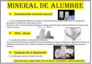 MINERAL DE ALUMBRE-1
